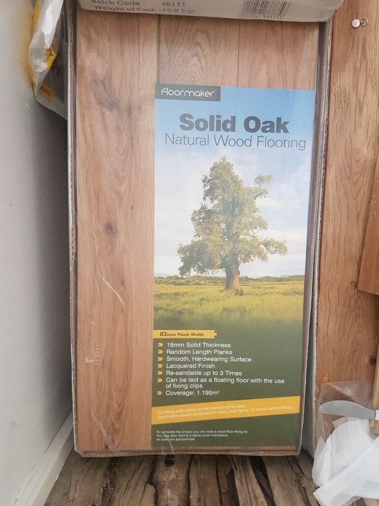 Solid Oak Flooring In Northampton Northamptonshire Gumtree
