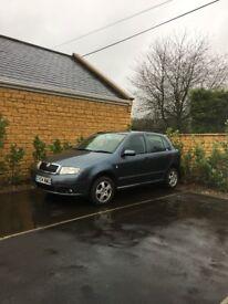 Skoda Fabia 1.4 Diesel, 118,000 Miles, 4 Door, Very good Condition, 8 Months MOT, Clean Car