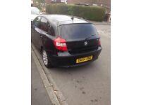 Black BMW 1series 116i £1900 ono
