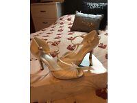Ivory Wedding Shoes Size 5