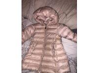 Girls genuine moncler coat