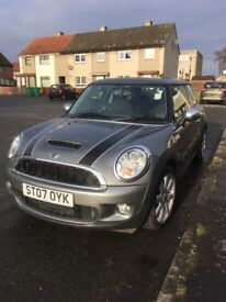 Mini Cooper S for sale with FSH taxed and MOT