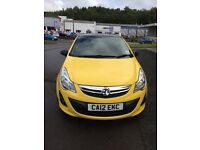 Corsa Limited Edition, 1229cc, 12 plate, Yellow, 3 door, Petrol,
