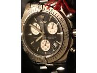 Genuine Breitling Colt Chronograph 41mm black dial, with box & papers. Not Rolex, Tag Heure, Omega