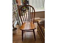 Set of 4 dining chairs from DFS