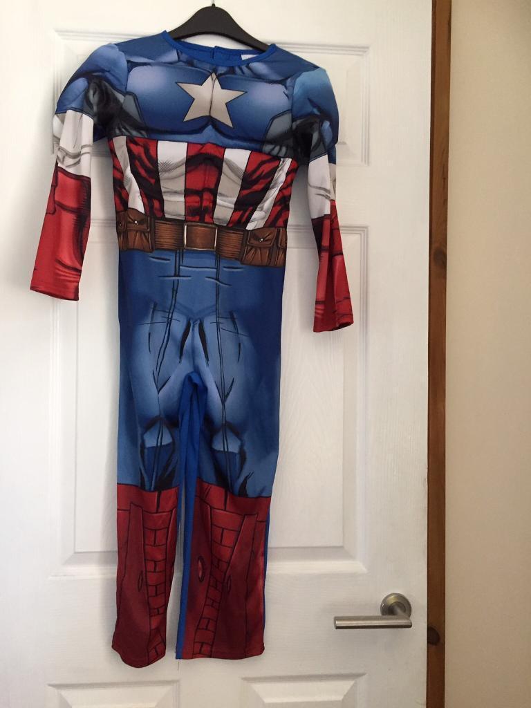 Captain America Suit Age 7-8