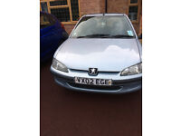 Peugeot 106 - good condition, great MPG, perfect for a first car.