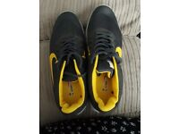 Mens Venbu trainers yellow/grey brand new (made in China-large size)
