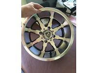 "1 set of 4 x Brand New Fairway 12"" Alloy Wheels/Rims Golf Cart. Will accept offer. Need gone ASAP."