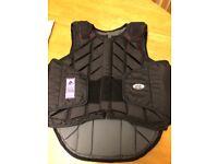 USG adult medium back protector worn once.