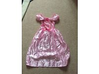 Girls dress pink princess