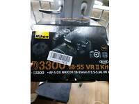 Brand new Nikon D3300