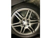 Mercedes AMG 17 inch C Class Alloys &Tyres