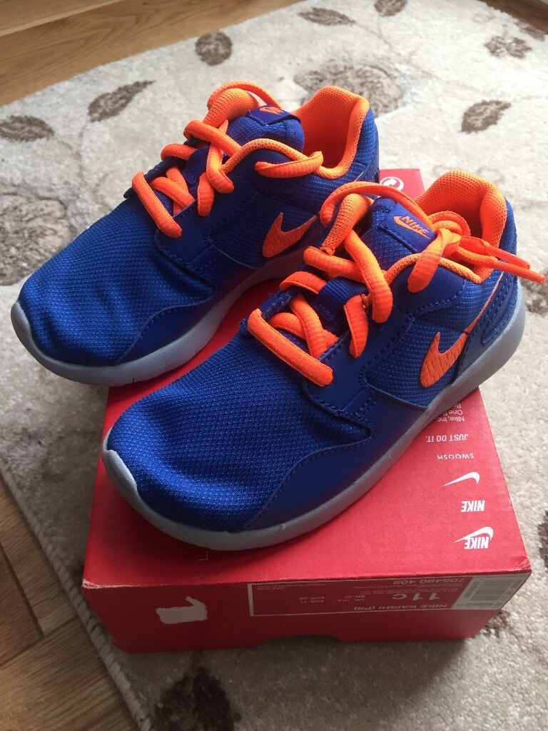 BRANDNEW BOYS TRAINERS BOXEDin Erdington, West MidlandsGumtree - BRANDNEW BOYS. TRAINERS SIZE 11 BOXED SELLING AT A BARGAIN AT 25 POUNDS XXXXXXXXXXX