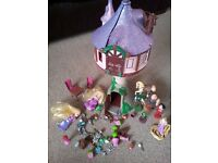Rapunzel tower from disney store