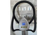 Power Plate My3 + Power Shield - all silver + straps and mats