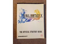 Final Fantasy X The Office Strategy Guide (Very good condition)