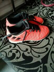 Adidas indoor football trainers infant size 11
