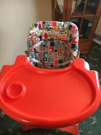 Kiddicare highchair suitable from birth