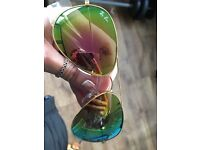 ray bans flash lens aviator sunglasses