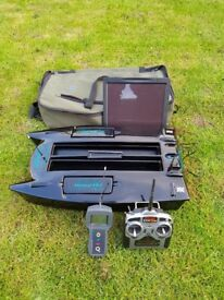 Microcat mk 3 with built in echo sounder