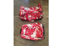 2 x Animal suitcases, cabin baggage plus larger