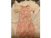 2 lace dresses size 6-8 great for prom