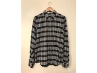 Ben Sherman Vintage Inspired Flannel Chequered Shirt Size M