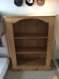 Book shelf solid wood storage