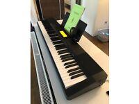 Casio Digital Keyboard, Black