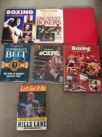 7 Boxing books