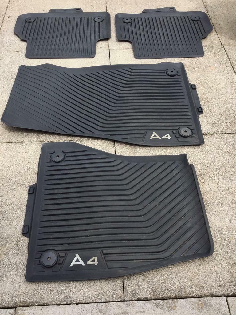 Genuine Audi A10 10 all road rubber car mats | in Rogerstone, Newport |  Gumtree | genuine audi a4 car mats