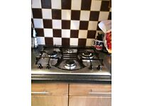 HOTPOINT GAS HOB AND EXTRACTOR