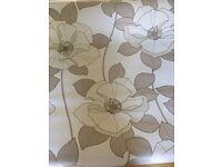 3 Rolls dakota arthouse floral cream wallpaper