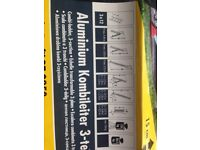 Hailo Profilot 9250 Pedal Adjustment Aluminium Combination Ladders