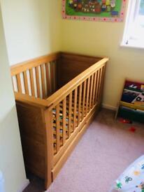 Mamas & Papas ocean cot bed