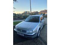Vw Volkswagen, GOLF, 1.6 Match 5 door manual 105,000 miles