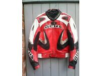 Richa leather motorcycle jacket size 42