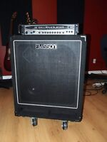 Gallien-Krueger 700RB-II Head and 500W Basson Bass Cabinet