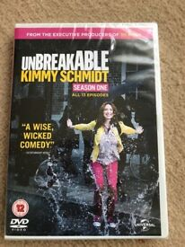 New Unbreakable Kimmy Schmidt Season 1 DVD