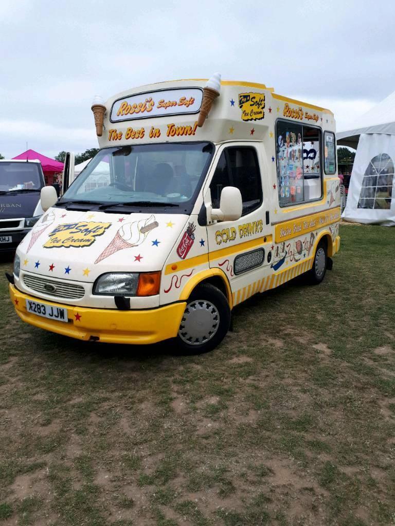 12685d4784 Ford Transit Ice Cream Van