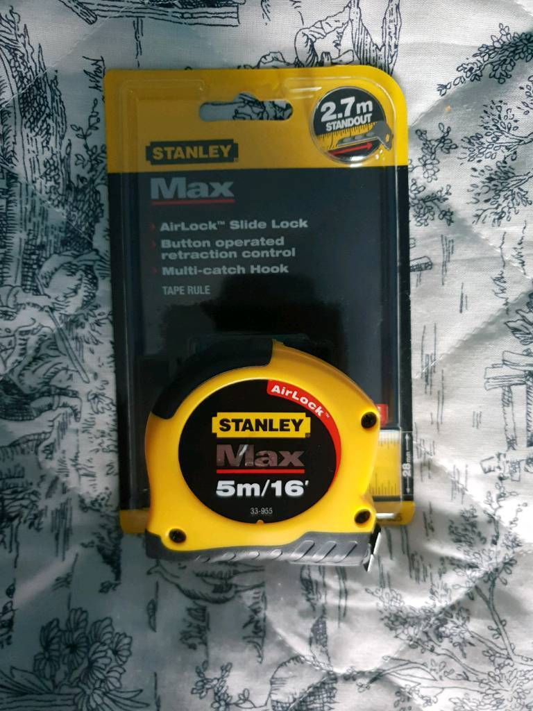 Stanley Max Tape Measure 5m 28mm In Darfield South Yorkshire Basic 16