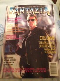 FANTAZIA comic fan magazine offers offers