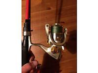 Complete lure rod setup