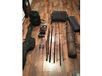 Nash carp fishing set up full set complete set