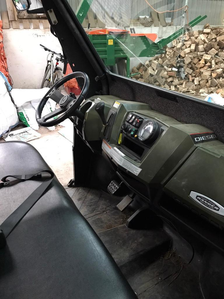 Polaris crew cab quad/gator