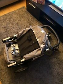 Billie friars travel system includes carrycot, pushchair and car seat