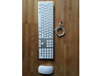 Apple Magic Mouse and wired usb keyboard