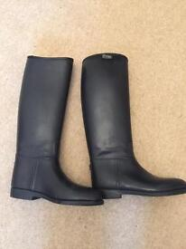 Long riding boots - size 3 Shires child's or ladies