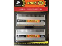 Corsair XMS3 DHX 4GB DDR3-1600 kit DESKTOP MEMORY XMS3 DHX TW3X4G1600C9DHXNV 4GB DDR3 kit